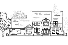 Dream House Plan - Country Exterior - Front Elevation Plan #5-196