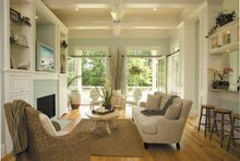 Country Interior - Family Room Plan #930-358