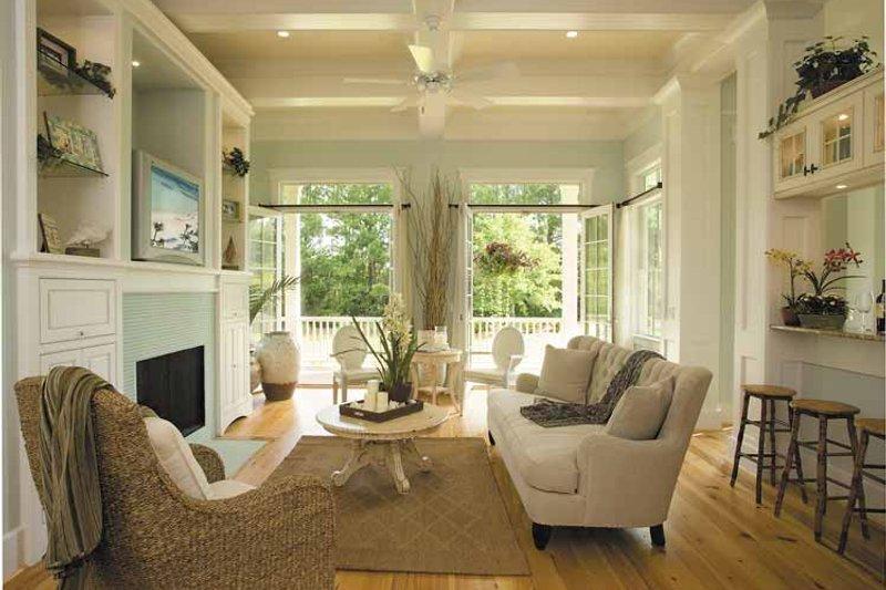 Country Interior - Family Room Plan #930-358 - Houseplans.com