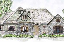 Cottage Exterior - Front Elevation Plan #410-3568