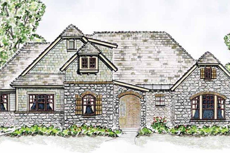 Cottage Exterior - Front Elevation Plan #410-3568 - Houseplans.com