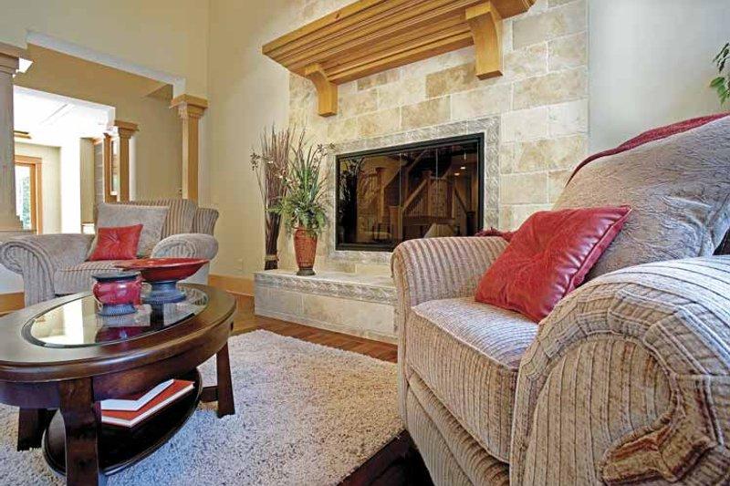 Contemporary Interior - Family Room Plan #951-2 - Houseplans.com