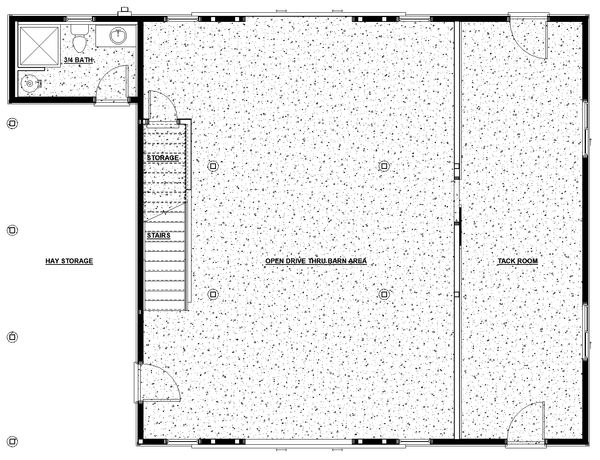 Farmhouse Floor Plan - Main Floor Plan Plan #895-116