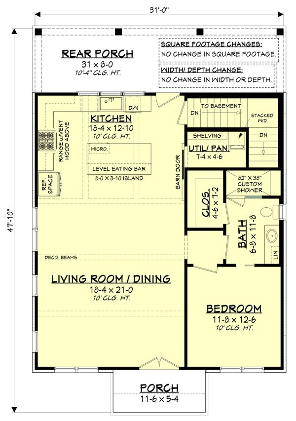 Farmhouse Floor Plan - Other Floor Plan #430-238