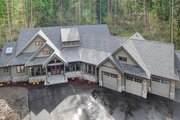 Cottage Style House Plan - 4 Beds 3.5 Baths 4420 Sq/Ft Plan #132-568 Exterior - Other Elevation