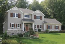 House Design - Country Exterior - Front Elevation Plan #928-162