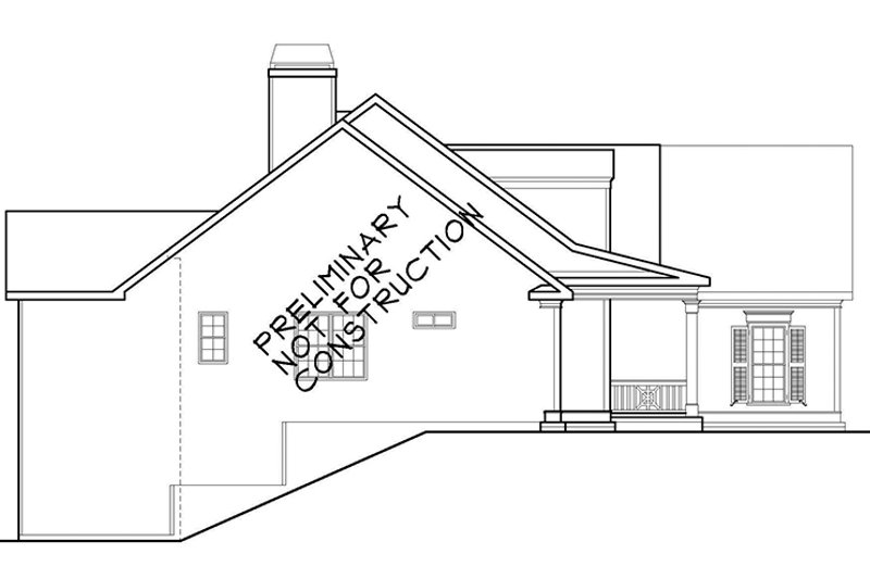 Country Exterior - Other Elevation Plan #927-922 - Houseplans.com