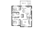 Contemporary Style House Plan - 6 Beds 3 Baths 3588 Sq/Ft Plan #23-2595 Floor Plan - Lower Floor