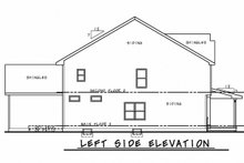 Architectural House Design - Traditional Exterior - Other Elevation Plan #20-2340