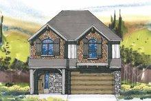 Prairie Exterior - Front Elevation Plan #509-235