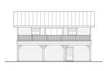 House Plan Design - Craftsman Exterior - Other Elevation Plan #124-1133