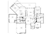 Country Floor Plan - Main Floor Plan Plan #437-81