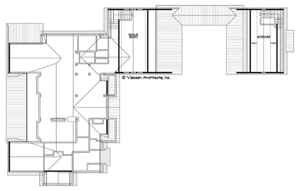 Ranch Floor Plan - Other Floor Plan Plan #928-293