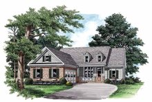 Country Exterior - Front Elevation Plan #927-560