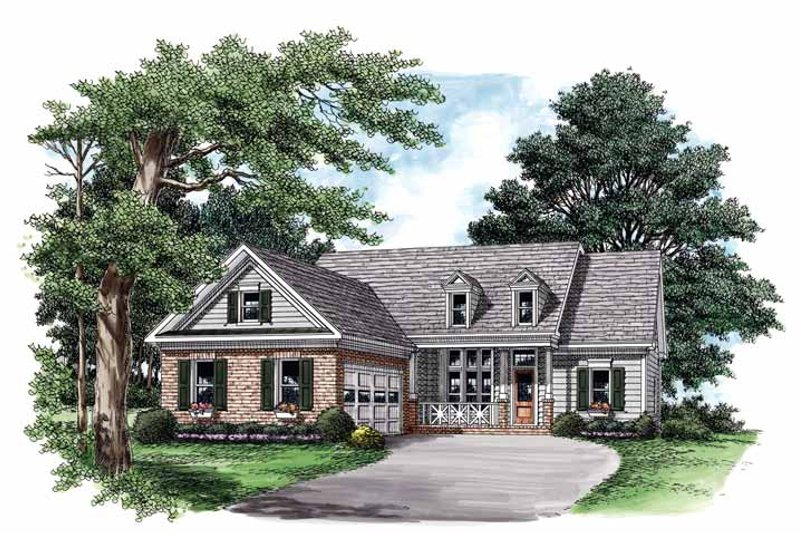 House Plan Design - Country Exterior - Front Elevation Plan #927-560