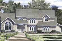 House Plan Design - Contemporary Exterior - Front Elevation Plan #316-226
