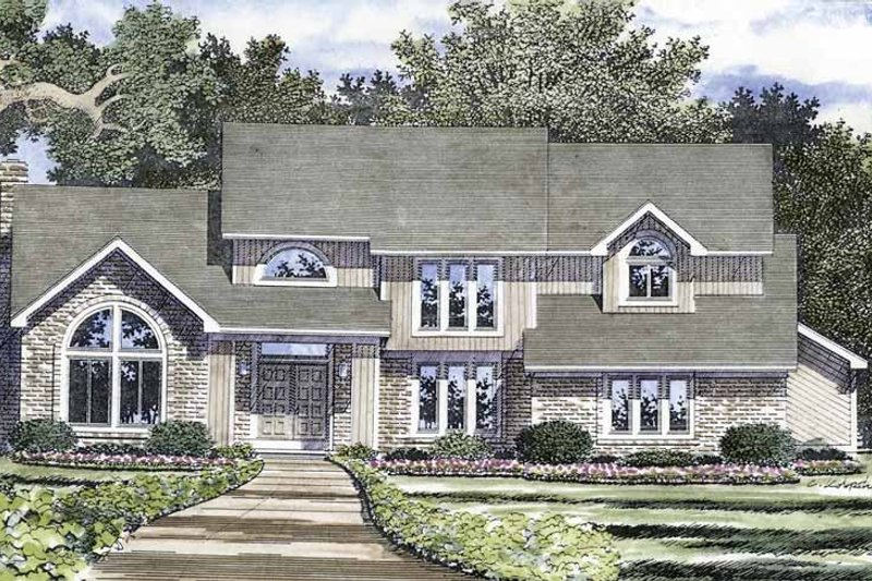 Contemporary Exterior - Front Elevation Plan #316-226 - Houseplans.com