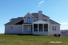 Dream House Plan - Country Exterior - Rear Elevation Plan #929-527