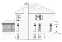 House Plan Design - Traditional Exterior - Other Elevation Plan #901-142