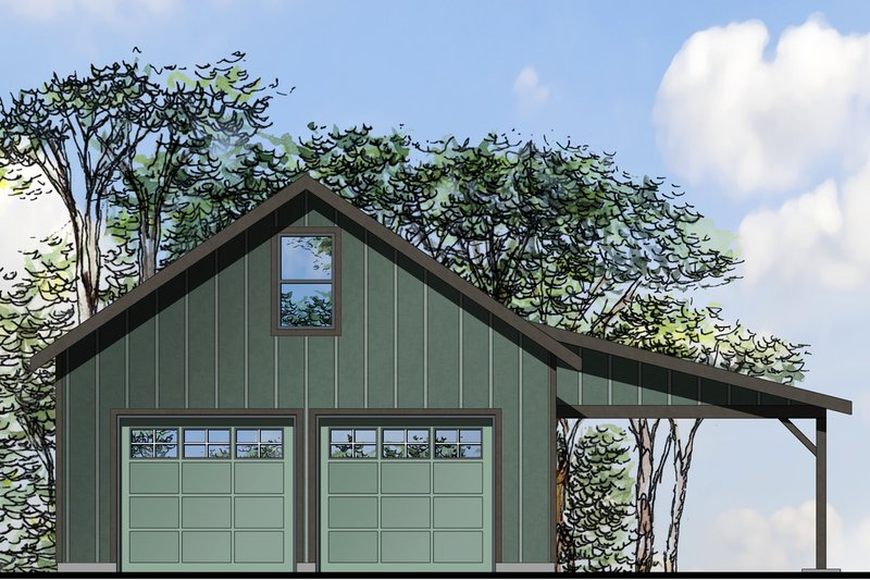 Traditional Style House Plan - 0 Beds 1 Baths 1571 Sq/Ft Plan #124-986 Exterior - Front Elevation