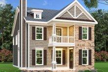 Dream House Plan - Craftsman Exterior - Front Elevation Plan #419-167