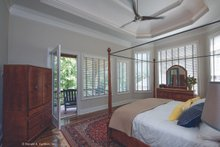 Architectural House Design - Tudor Interior - Master Bedroom Plan #929-947