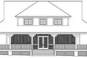 Farmhouse Style House Plan - 3 Beds 2.5 Baths 2400 Sq/Ft Plan #81-736 Exterior - Rear Elevation