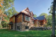 Craftsman Style House Plan - 3 Beds 3 Baths 3554 Sq/Ft Plan #1057-1 Exterior - Other Elevation