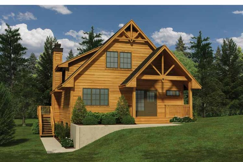 Traditional Exterior - Front Elevation Plan #118-149 - Houseplans.com