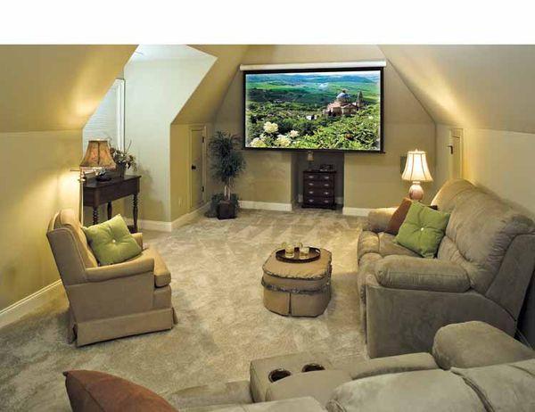 Home Plan - Bonus Room Build 1