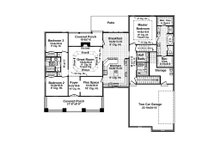 Country Floor Plan - Main Floor Plan Plan #21-375