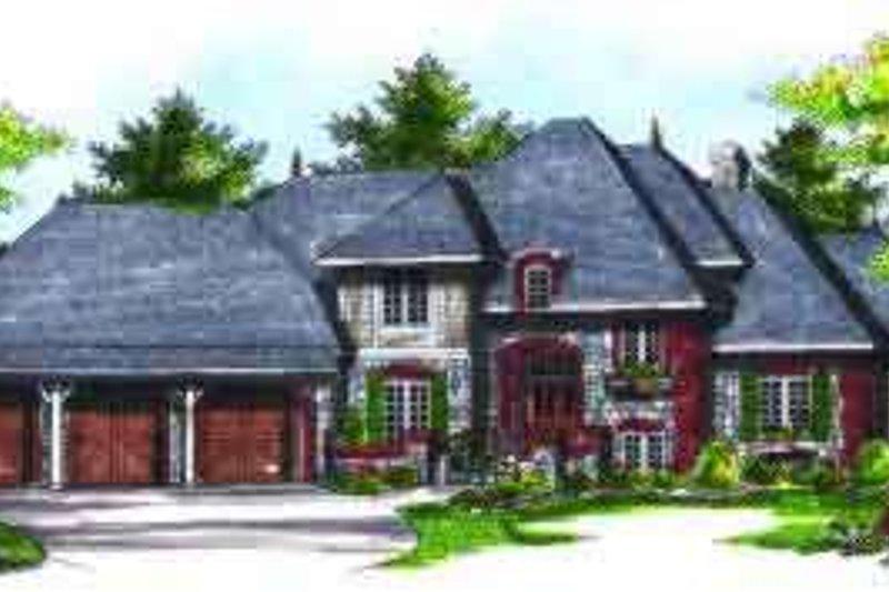 House Design - European Exterior - Front Elevation Plan #70-730