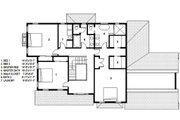 Traditional Style House Plan - 3 Beds 2.5 Baths 3341 Sq/Ft Plan #497-44 Floor Plan - Upper Floor Plan