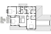 Traditional Style House Plan - 3 Beds 2.5 Baths 3341 Sq/Ft Plan #497-44 Floor Plan - Upper Floor Plan