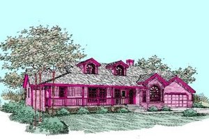 Traditional Exterior - Front Elevation Plan #60-271