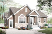Colonial Exterior - Front Elevation Plan #23-2522