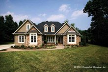 Traditional Exterior - Front Elevation Plan #929-605