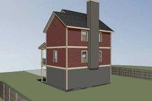 Traditional Exterior - Rear Elevation Plan #79-145