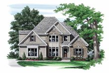 Traditional Exterior - Front Elevation Plan #927-557