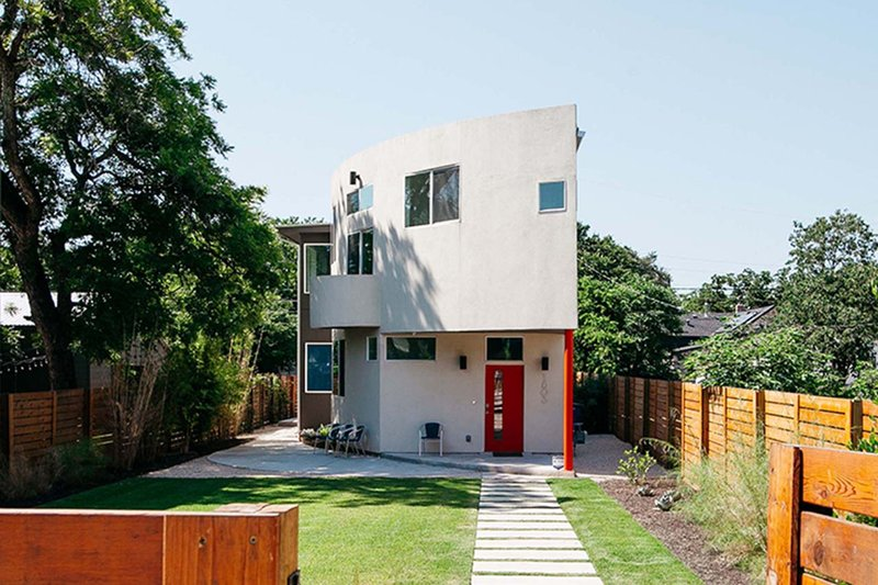 Dream House Plan - Modern Exterior - Front Elevation Plan #450-6
