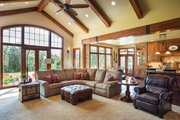 Ranch Style House Plan - 3 Beds 3 Baths 2910 Sq/Ft Plan #48-712 Interior - Family Room
