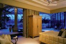 Mediterranean Interior - Master Bedroom Plan #930-319