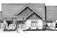 House Plan Design - Ranch Exterior - Front Elevation Plan #942-21