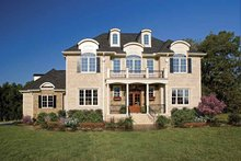 Country Exterior - Front Elevation Plan #929-678