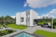 Modern Style House Plan - 3 Beds 1 Baths 2060 Sq/Ft Plan #549-13 Photo