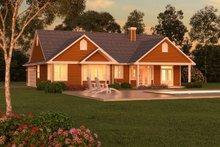 Ranch Exterior - Rear Elevation Plan #18-1057