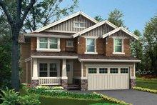 Craftsman Exterior - Front Elevation Plan #132-326
