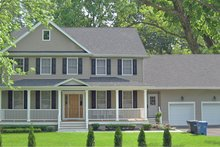 Traditional Exterior - Front Elevation Plan #1053-59