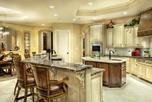 Mediterranean Interior - Kitchen Plan #930-442