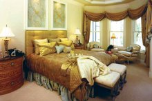 Mediterranean Interior - Master Bedroom Plan #1017-3